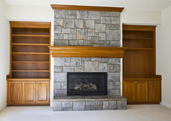 fireplace surround makeover ideas