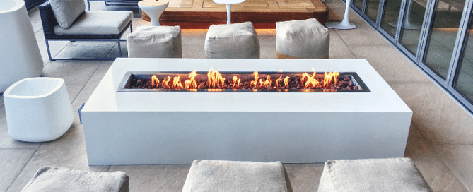 commercial fireplace trends
