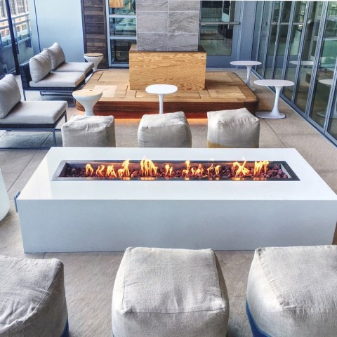 Modera Commercial Fireplace