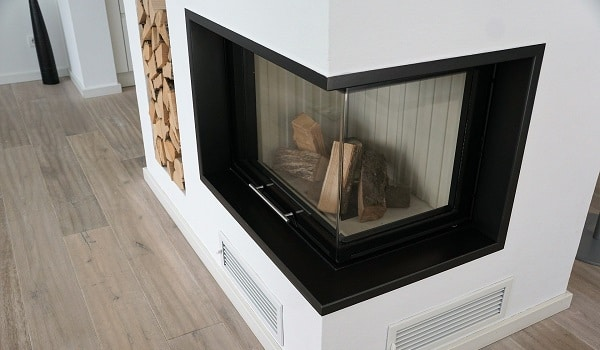 how to improve fireplace heating efficiency